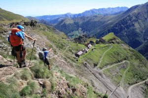 A guided holiday hiking in the Pyrenees