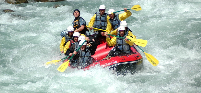 Riversports adventures in Pyrenees