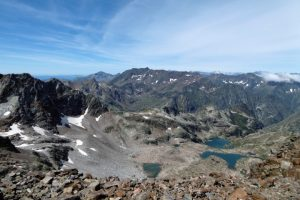 Pyrenees lakes and mountains
