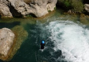 Canyoning riversport adventure