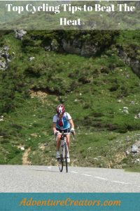 Cycling tips to beat the heat