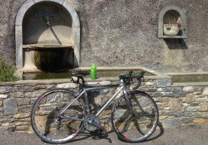 Make use of water sources when Pyrenees cycling