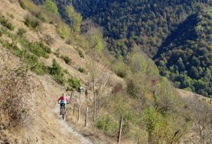MTB training course in the Pyrenees