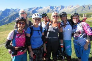 Kitlist for womens MTB holiday