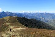 Great high mountain views on a Pyrenees trail running holiday