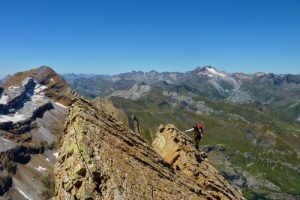 Autumn alpinism in the Pyrenees