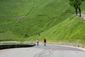 Cycling the classic Pyrenees col de Peyresourde