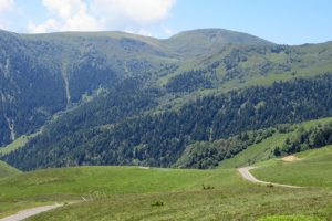 Cycling the classic Pyrenees col Port de Bales