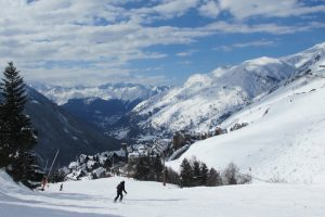 Baqueira ski resort Pyrenees