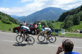 Encourage your cycling heroes in the TDF