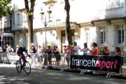 Chris Froome TDF arrival Luchon