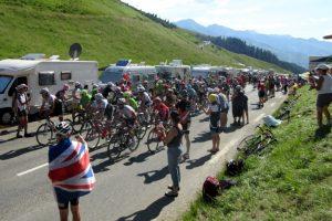 TDF peloton cycling col de Peyresourde