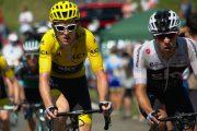 TDF cycling up Col de Menté