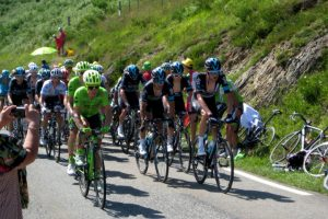 Team Sky cycling TDF col d'Aspin
