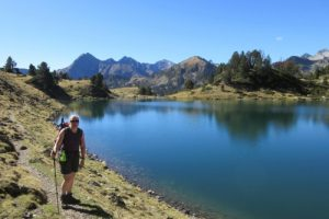 Hiking with Pam in Pyrenees
