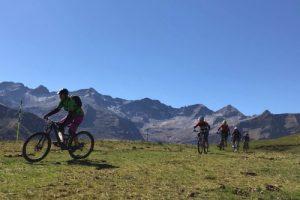 womens mountain biking in Pyrenees