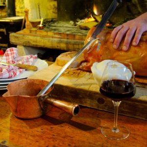 Traditional food Ariege Pyrenees