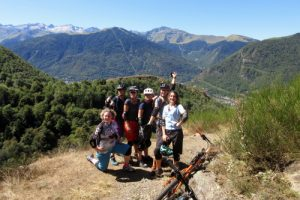 MTB adventures in the Pyrenees