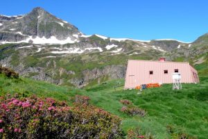 Mountain refuge in the French Pyrenees