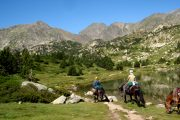 Lakes and mountains horse riding holiday