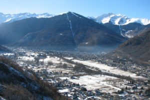 Luchon valley family winter holiday