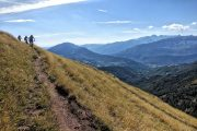 Pristine singletrack descent in Benasque Spanish Pyrenees