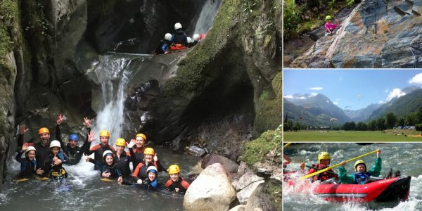 Family multi activity adventure holiday in the French Pyrenees