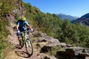 Sunny trails on an enduro MTB holiday in Spain