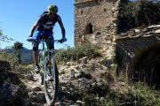 Mounain biking through historic villages