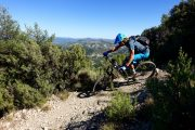 Dusty trails on a Spanish enduro MTB trip