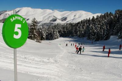 Family friendly skiing at Val Louron