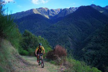 E-Mountain biking in Spain