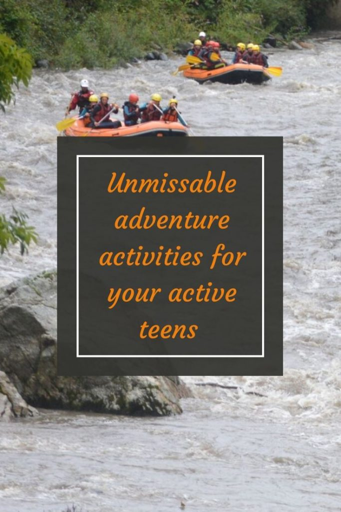 Unmissable adventure activities for your active teens in then French Pyrenees