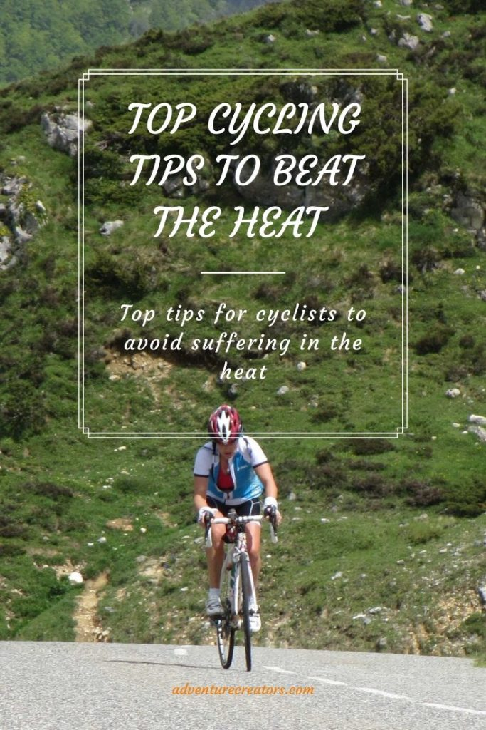 Top cycling tips to beat the heat cycling in French Pyrenees