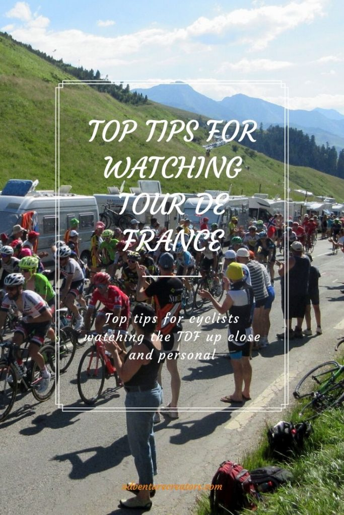 Top tops for cyclists watching the TDF in the Pyrenees