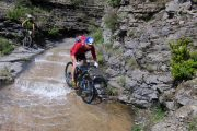 River crossing Enduro MTB holiday in the Pyrenees