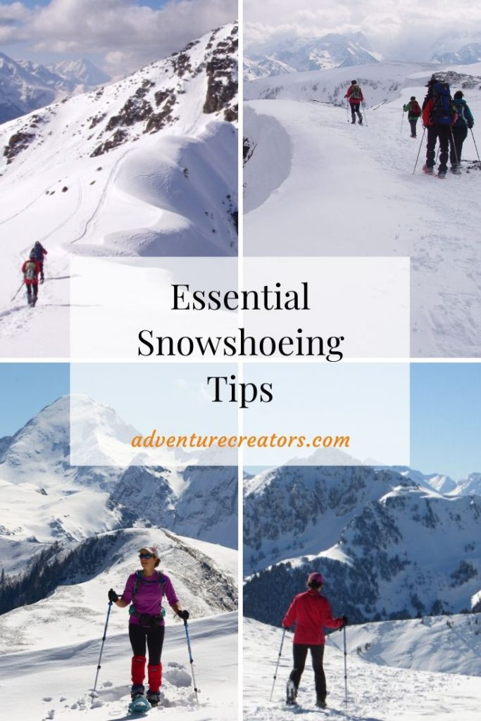 Essential snowshoeing tips