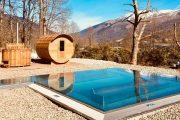 sauna and japanese pool