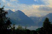 peaceful mountain views
