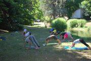 Practise yoga on your wellbeing break