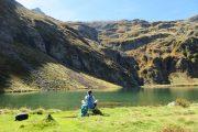 lakeside mountain meditation