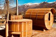 Nordic bath and sauna