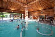 roman baths at thermal spa facility