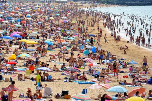 We'll avoid beach holidays