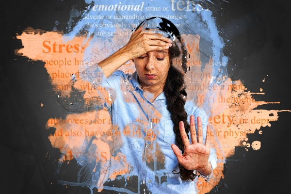 Stress is bad for mental health