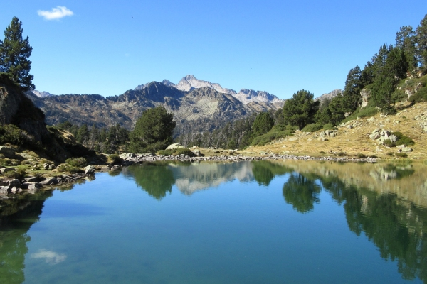 The Neouvielle natural Park in the Pyrenees