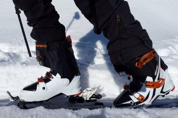 Back-country ski boots