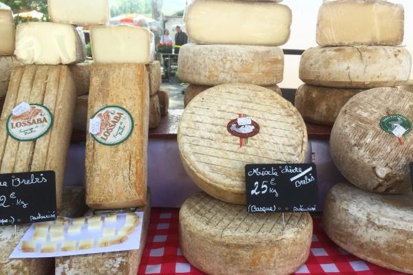 Pyrenees cheeses