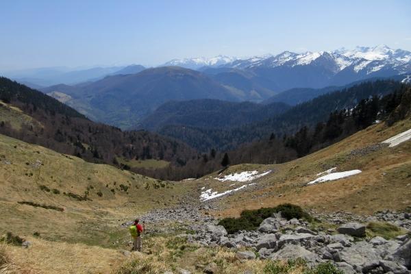 Pyrenees mountain views