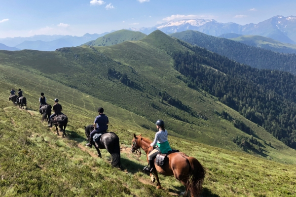 Horse trekking in the Pyrenees